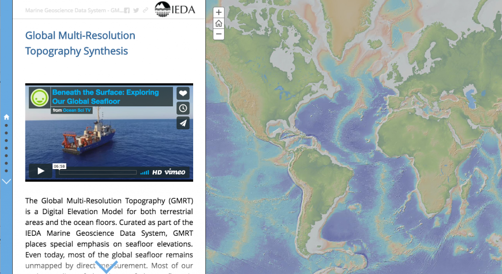 Gmrt archives interdisciplinary earth data alliance in recognition of world oceans day an interactive story map about the global multi resolution topography synthesis was released gumiabroncs Image collections